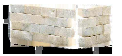 Panele kamienne białe kamień dekoracyjny Opole