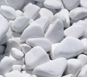 Otoczak bialy thassos Bialy kamien naturalny otoczak grecki kamien ogrodowy