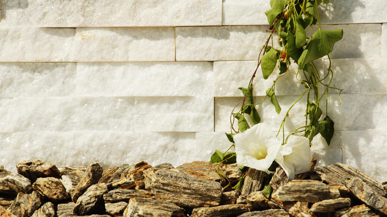 biały kamień elewacyjny