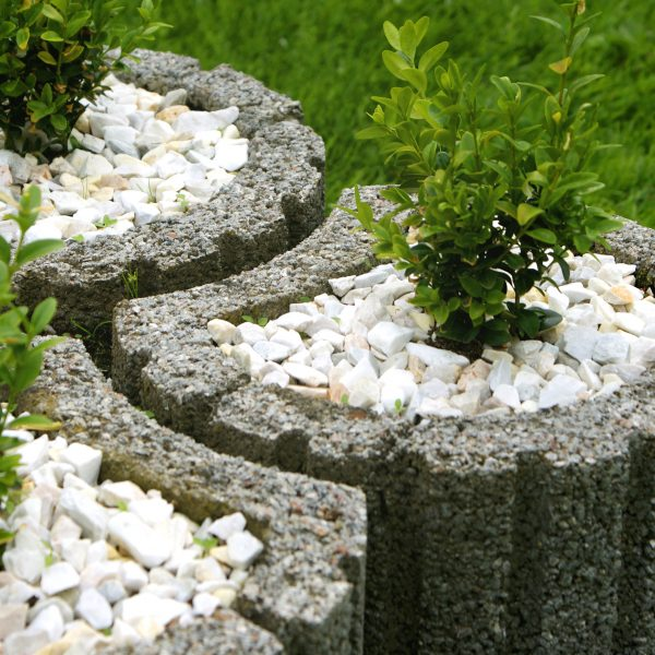 ogród z kamienia
