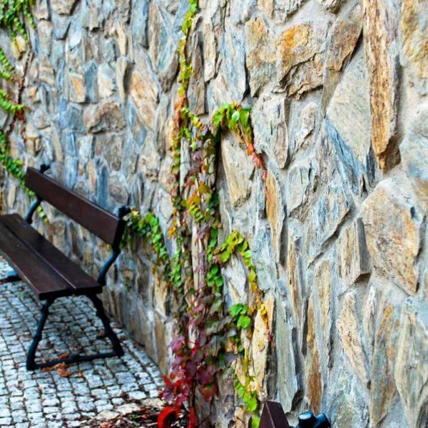 łupek w formie kamienia na ściany