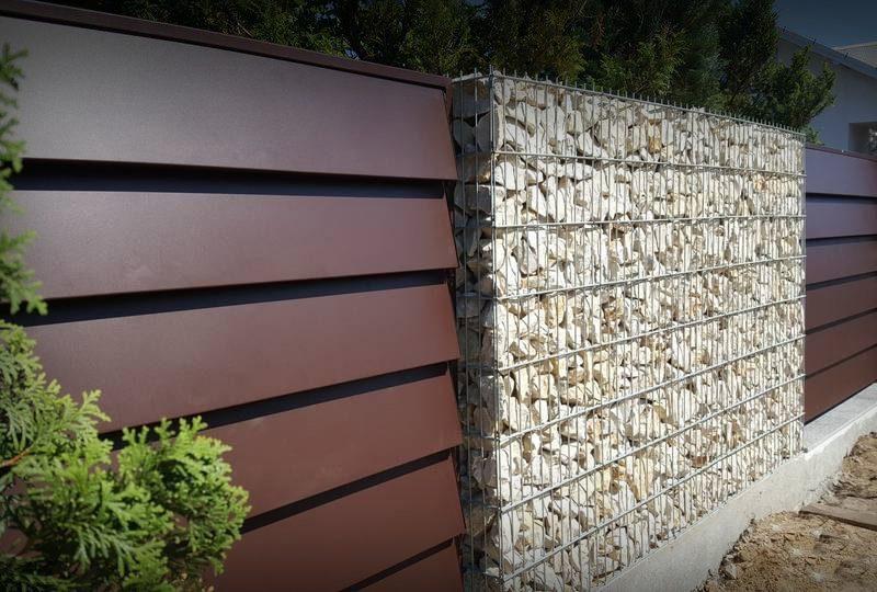 Kamień na ogrodzenie gabionowe