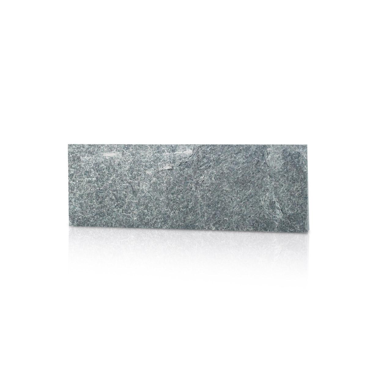 Cegiełki na ścianę, łupek silver grey